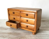 Vintage Chest of Drawers/ Display/ Jewellery Box