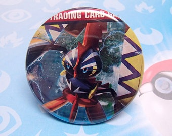 """TAPU KOKO - Pokemon 2.25"""" Pinback Button"""