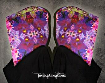 KALEIDOBLOOM // Custom Organic Cotton Hood!