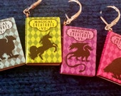 Progress Keeper, Set of 4 Magical Creatures Books, Snag Free, Removable Stitch Marker, Knit, Crochet, Notion, Accessory w/ FREE Notion Bag