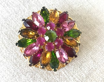 c. 1950s Juliana D and E style brooch