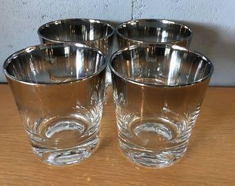 Mid Century Dorothy Thorpe Style Rocks Glasses