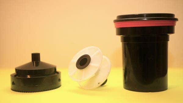accessories to develop film. process film