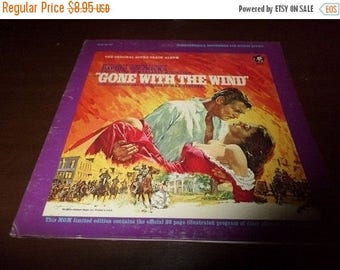 Save 30% Today Vintage 1967 Vinyl LP Record Gone With the Wind Original Sound Track Album Excellent Condition 3467