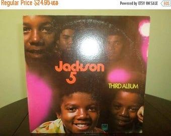 Save 30% Today Vintage 1970 LP Record The Jackson 5 Third Album Excellent Condition Motown Records 7288
