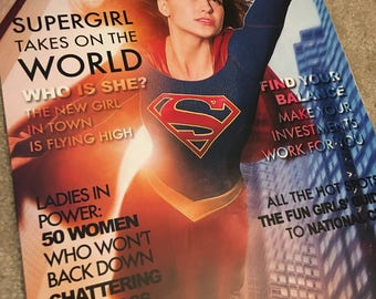 "Supergirl ""CATCO"" Magazine Cover Print"