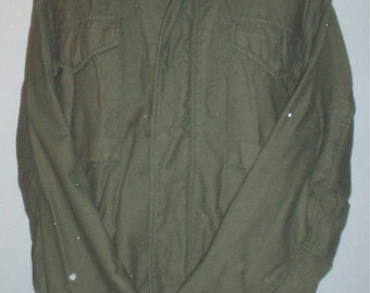 US Army M-65 field jacket OD, Reg-Med, 3-tags, 1965 super desirable!!