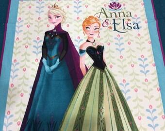 Elsa and Anna blanket Crib Size