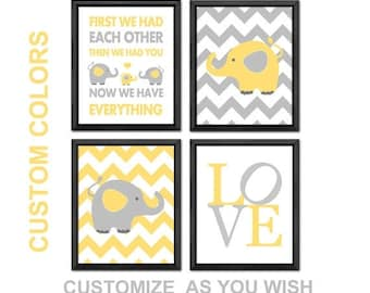 elephant baby decor, elephant baby shower decor, elephant baby gift, elephant nursery decor PRINT/CANVAS/DIGITAL, elephant baby room decor