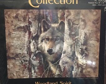 Candamar Designs Gold Collection Woodland Spirit Counted Cross Stitch Kit