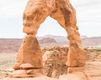 5x7 Delicate Arch Photography Print