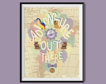 "Up ""Adventure is Out There"" Print"