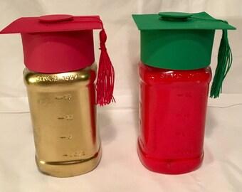 Graduation Cap with Tassel for Mason Jar Centerpiece.