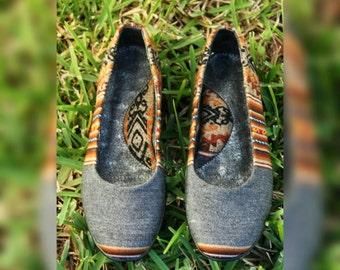 Boho Chic Flats / Ballet Flats Shoes