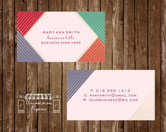 Business Stationery Business Cards  | Rodan and Fields | LulaRoe | DoTerra | etc.