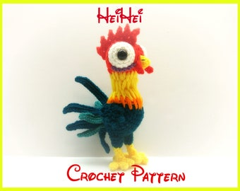 Crochet HeiHei Pattern From Disney's Moana PATTERN ONLY