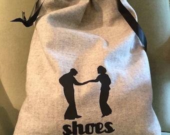 Carolina Shag Dancing, Shag Dancers, Shoe Bag