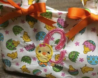 Personalized Custom Easter Basket Easter Bag