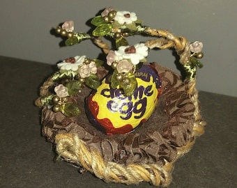 Handmade Easter Egg nest