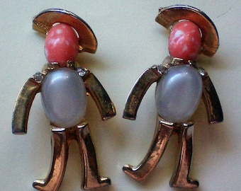 Matching Jelly Belly Figural Man Pins - 5096