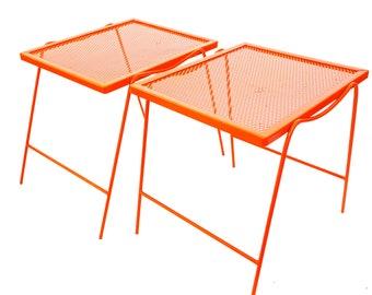 Modern patio side table