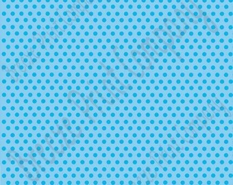 Light blue with sky blue mini polka dots craft  sheet - HTV or Adhesive Vinyl -  polka dot  HTV2333