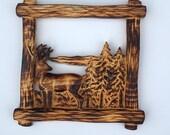 Woodlands Deer Wall Art, ...