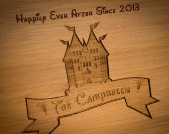 Fairy Tale Cutting Board