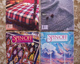 REDUCED - 1993 Full Set of Spin-Off Wool Magazine for Handspinners