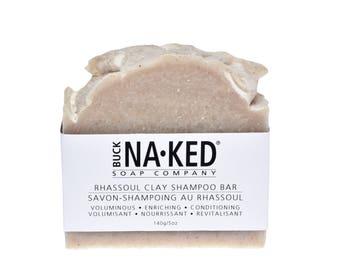 Rhassoul Clay Shampoo Bar: All Natural Soap, Shampoo Bar, Vegan Soap, Oily Hair Shampoo, Natural Shampoo, Vegan Shampoo, Natural Hair Care