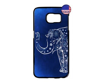 Retro Design Fashion Elephant Beautiful Hard Rubber Case Cover For Samsung Galaxy S8 S7 S6 Edge Plus S5 S4 S3 NOTE 5 4 3 2 iPod Touch 4 5 6