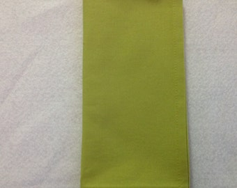Cloth Napkins in a Bright Chartreuse Color, Dinner Napkins, Table Linens, Sets of 2 or 4