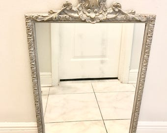 VINTAGE FRENCH MIRROR Medium Size  French Provincial Mirror