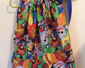 Pirate Pillowcase Dress - Ready to ship