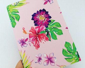 Notebook - PINK FLORAL