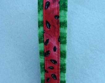 Watermelon design, Key Fob, Key chain, Wristlet, Camera Strap