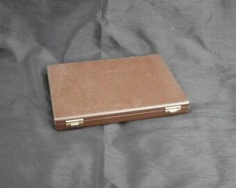 Rapport Brown Jewellery Cufflink Case Cufflink Box
