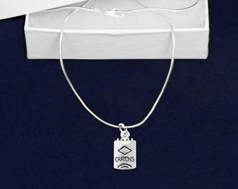 Box Of Crayons Necklace in a Gift Box (1 Necklace - Retail) (RE-N-10-TS)