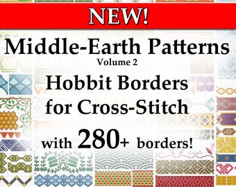 Middle-Earth Patterns - Hobbit Borders for Cross-Stitch