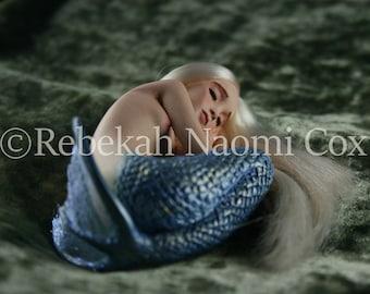 Rebekah Naomi Cox - Pearl Of The Sea, Mermaid art print