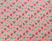 Custom Listing for Heather -- Atsuko Matsuyama Smile Garden in Pink and Blue by Yuwa - 2 yards