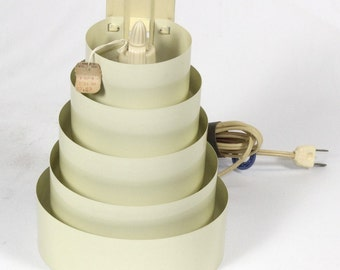 Vintage Venetian Pin-up Lamp Sconce Airstream Deco Ivory Home Decor Lighting