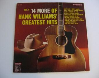 Hank Williams - 14 More Greatest Hits Volume 2 - Circa 1962