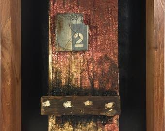 Abstract Assemblage Wall Art No. 15