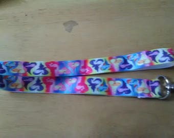 My little Pony Lanyard with Bottle cap Charm