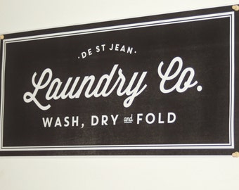 Laundry And Co Sign Classy Laundry Co Sign  Etsy Design Ideas