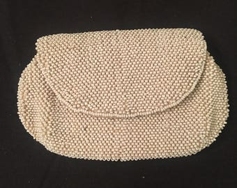 1940's-1950's beaded coin purse/ clutch