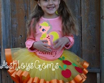 My Little Pony Applejack, My Little Pony Birthday Outfit, My Little Pony Dress, My Little Pony Birthday, Applejack, My Little Pony