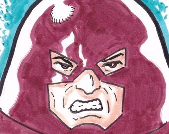 "Juggernaut X-Men ACEO trading card 2 1/2"" x 3 1/2"""