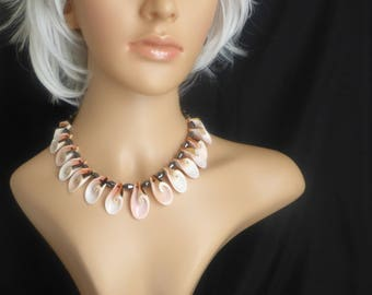 Perfect Pink Shell Necklace